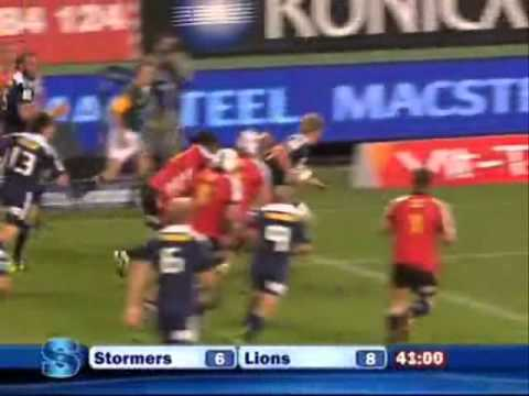 Stormers vs Lions - Super Rugby 2011 Rd.s 2 Highlights -