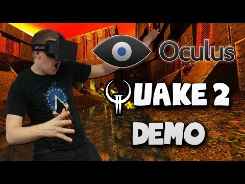 Quake 2 DEMO - Oculus Rift Game