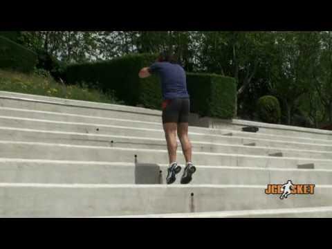 Ejercicios para entrenar el salto. Pliometria, multisaltos, gradas, zancada