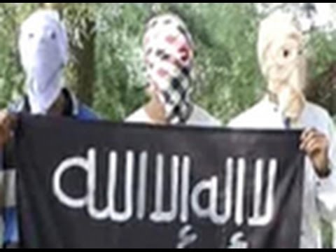 Who is behind the ISIS flag in Jammu & Kashmir?