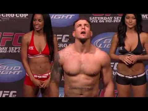 UFC 119: Mir vs Cro Cop Weigh In