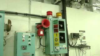 CO2 Discharge Alarm in Engine Room Test