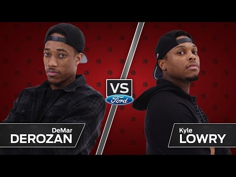 DeRozan vs Lowry in the Ultimate Skills Challenge