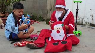 Trò Chơi Ông Già Noel Phát Quà ❤ ChiChi TV ❤ Đồ Chơi Trẻ Em Christmas Song