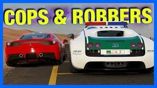 Forza 7 Online : COPS & ROBBERS!!