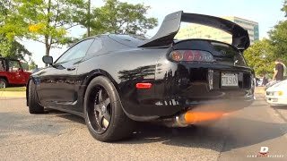 1600HP Toyota Supra 2-Step Revs // Acceleration
