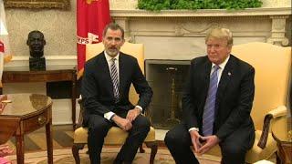 download musica Donald Trump recibe a los reyes de España en la Casa Blanca