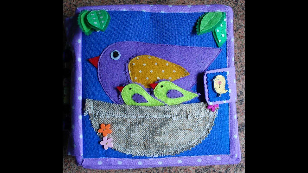 Мастерим развивающую мягкую книжку для малыша Материнство 85