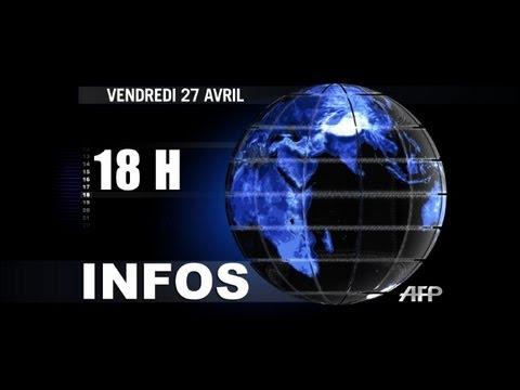 AFP - Le JT de 18H