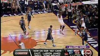 Shaq & Kobe 09 NBA All-Star Game (+Dwight)