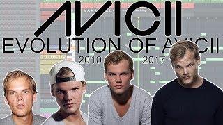 The Evolution Of Avicii (2010 - 2018) (FL Studio) | AVICII Piano Tribute