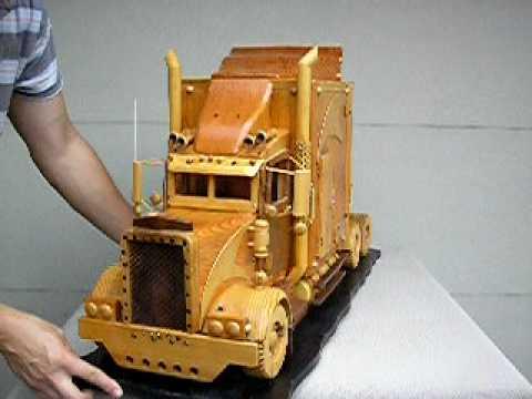 BIG PETER, World's Biggest Wooden Peterbilt Truck Model ...
