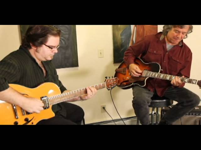The Improv - Another West Coast Blues - CP Thornton Guitars - Steve Lynnworth &amp; Andy Argondizza