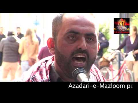 Bonn Jaloos 2014 - Chehlum Mola Ali (swt) - Syed Hassan Raza (Denmark)
