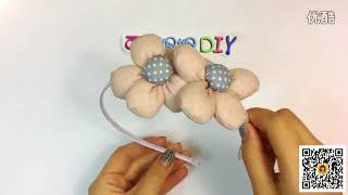 [Teaching children crafts] Children's cute little style hairpin 148
