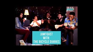 """Jazz Band """"The Bicycle Diaries"""" full interview on JamToast"""