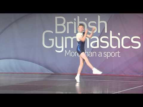 Rhys Williams 2012 Aerobic British Championships Weston