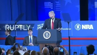 LIVE: Donald Trump speaks at CPAC 2017