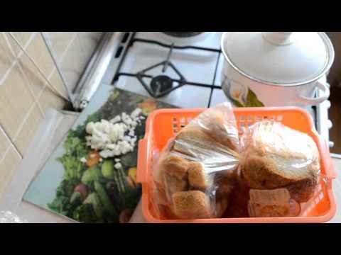 Кухонный vlog# готовлю обед#пирог со шпротами#супчик с лапшой