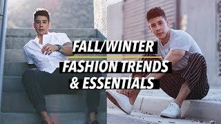 MEN'S TOP 7 FALL/WINTER FASHION TRENDS & ESSENTIALS 2018 🍁👟 | JAIRWOO