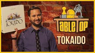 Tokaido: Jason Wishnov, J. August Richards, and Chris Kluwe join Wil Wheaton on TableTop S03E01