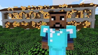 FIRE WOODLAND MANSION! - Minecraft Friend or Foe #29