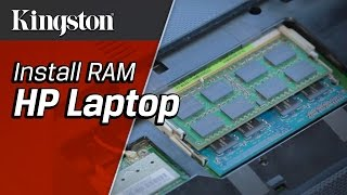 Install RAM in a HP Laptop - Kingston Technology