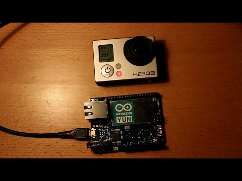 GoPro Hero controlled with Arduino Yún and Wifi/WLAN