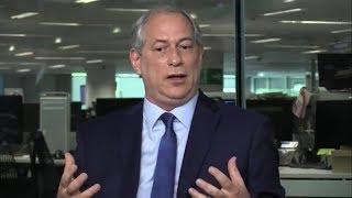 Ciro Gomes na sabatina do Jornal O Globo (12/09/2018)