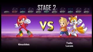 """Super Smash Bros. Crusade Classic Mode Knuckles Run """"Oh No!"""""""