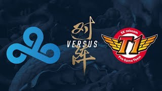 C9 vs. SKT | Group Stage Day 8 | 2017 World Championship | Cloud9 vs SK telecom T1