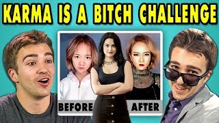 Download Lagu ADULTS REACT TO KARMA IS A BITCH CHALLENGE Gratis STAFABAND