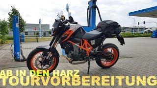 Tourvorbereitung: Mit dem Motorrad in den Harz | Piotrrr Moto