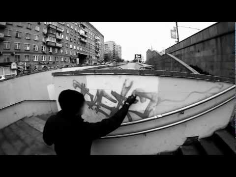 Rasko / the video. Graffiti from Russia.