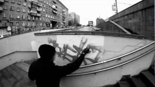 Rasko / the video. Graffiti from Russia.