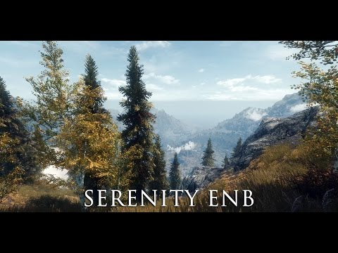 TES V - Skyrim Mods: Serenity ENB GEN3 - Final Cut / 21:9