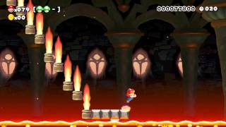 Super Mario Maker: Lava Jumping