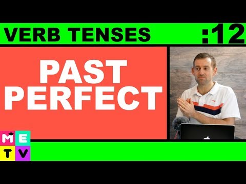 Past Perfect Verb Tense