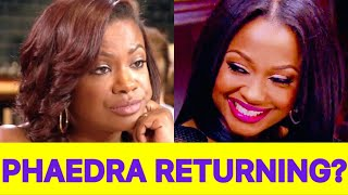 JUICY NEWS! Phaedra Parks Is In Talks To Return To #RHOA For Season 12!? What Will Kandi Do?