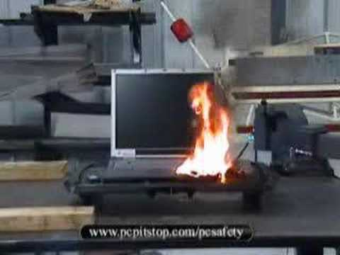 Exploding Laptop