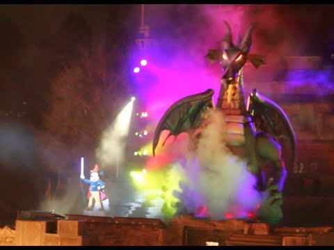 FANTASMIC! FULL SHOW - DISNEYLAND