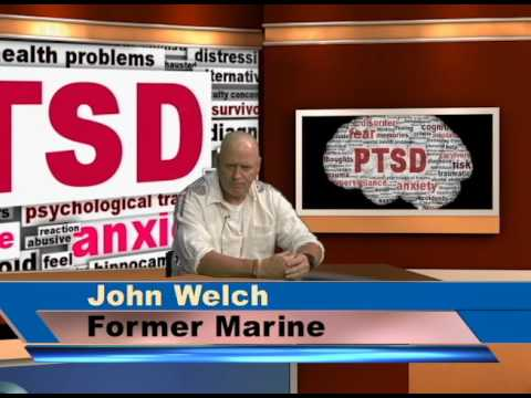 Former Marine from Long Island John Welch talks about PTSD