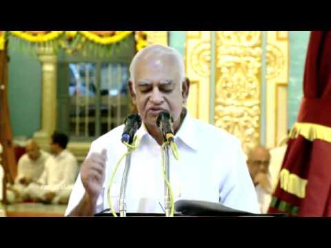A Talk by Padmashri Dr. G. Venkataraman, former Director, ANURAG of DRDO :))