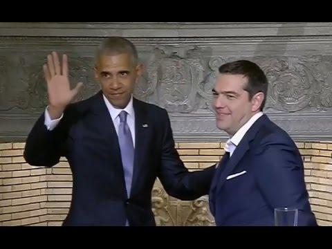 Obama Full Press Conference in Greece