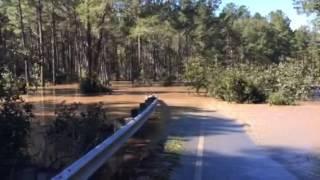 Hurricane Matthew aftermath eastern North Carolina