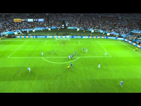 Messi Goal against Bosnia and Herzegovina! Argentina - Bosnia 2-1