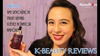 K-Beauty Review: MISSHA Time Revolution Night Repair Science Activator Ampoule