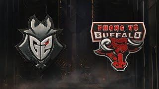MSI 2019: Fase de Grupos - Dia 5 | G2 Esports x Phong Vũ Buffalo (14/05/2019)