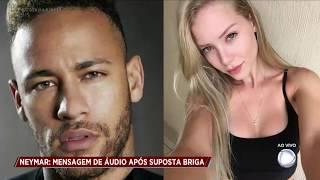 Najila manda mensagem para Neymar após caso vir a público