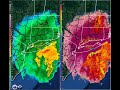 KOKX Reflectivity and Correlation Coefficient Loop of the February 9, 2017 Blizzard